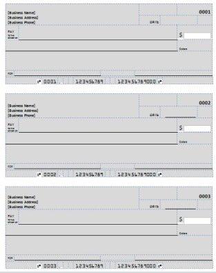 make checks online free