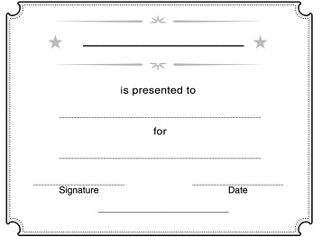 photo about Vbs Certificate Printable named Church Certificates