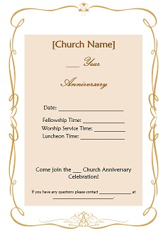 Church anniversary ideas stopboris Image collections
