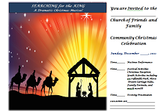 free christmas invitation