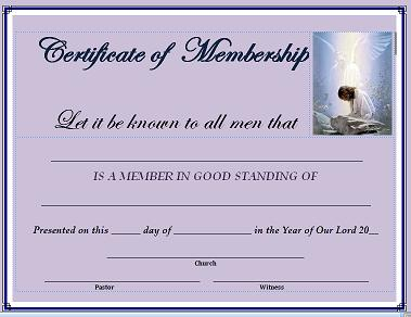 Church membership certificates hatchurbanskript church membership certificates yelopaper Image collections