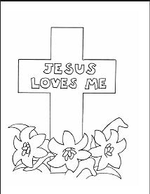 Religious Easter Coloring Pages Easter Coloring Pages