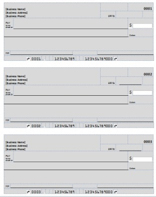 Blank check template deposit form for Checking deposit slip template